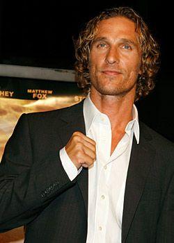 Matthew McConaughey: Tünellere giremiyor.
